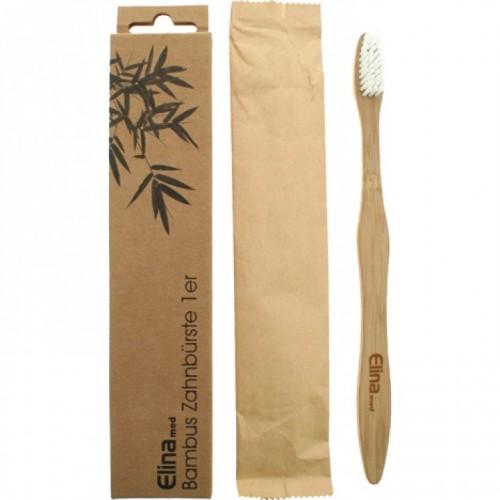 ELINA Ekologiczna bambusowa szczoteczka do zębów BIO