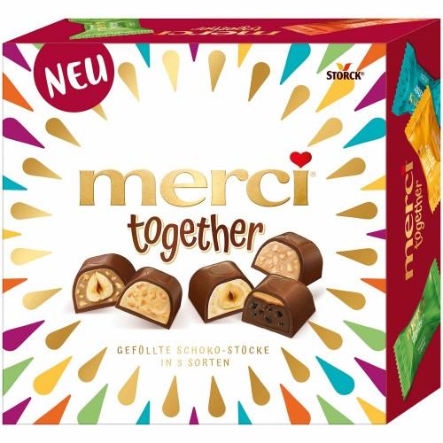 MERCI Together czekoladki mieszanka 175g