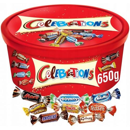 CELEBRATIONS 650g mieszanka  cukierków