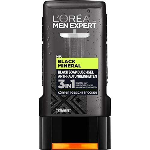 LOREAL MEN EXPERT Black mineral 3w1 300ml