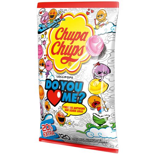 CHUPA CHUPS Do You Love Me - lizaki 120szt.1440g