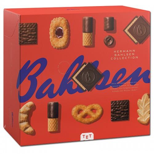 BAHLSEN Collection L, herbatniki, ciastka, karton 908g