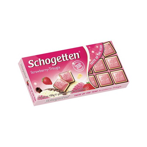 Czekolada SCHOGETTEN Trilogia Erdbeer 100g