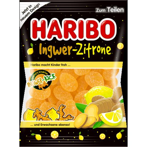 HARIBO Ingwer Zitrone 175g  żelki imbir/cytryna