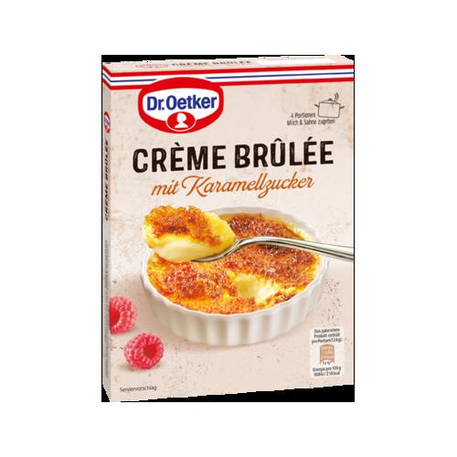 Dr.Oetker Crème Brûlée mit Karamellzucker 96g