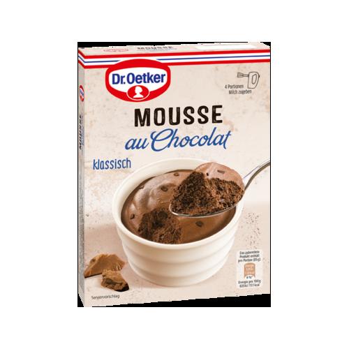 Dr.Oetker Mousse au Chocolat klassisch 92g