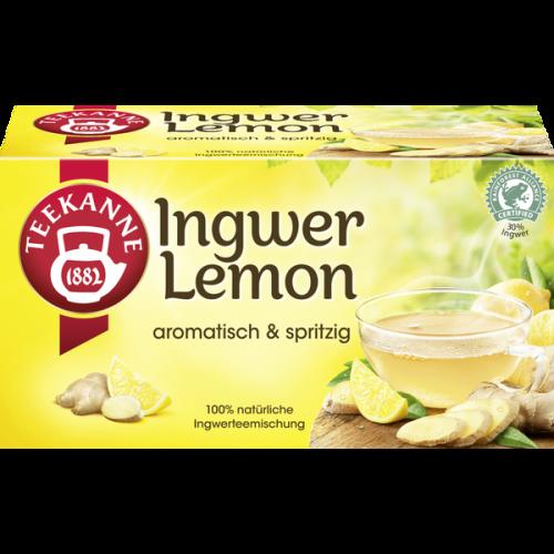 Herbata TEEKANNE Ingwer Lemon 35g 20 torebek