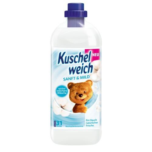 Kuschelweich płyn do płukania 31 prań 1l Sanft&Mild