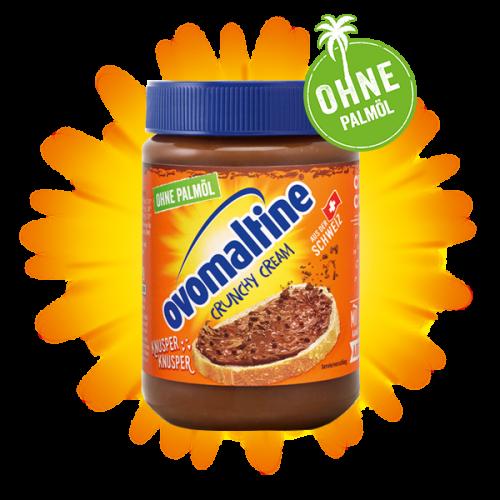 Krem czekoladowy OVOMALTINE z chrupkami 380g