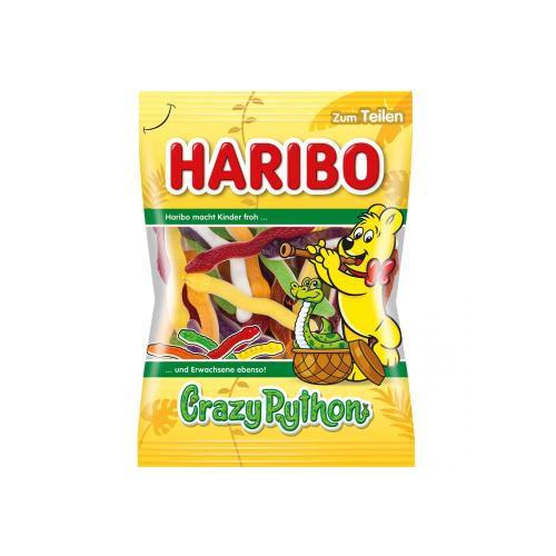 Żelki HARIBO Crazy Python 175g Węże