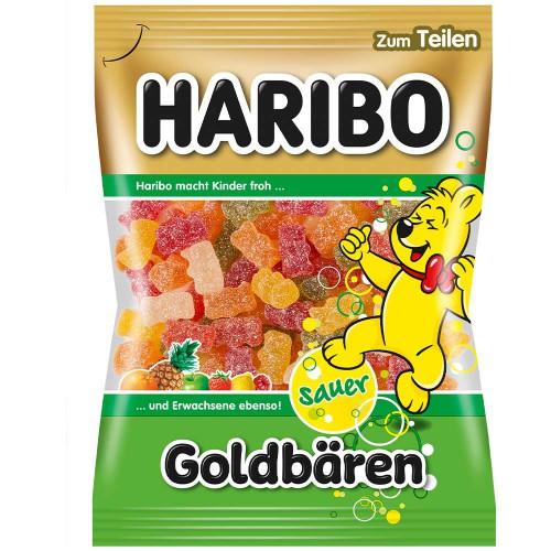 Żelki HARIBO Goldbaren Sauer 175 g KWAŚNE