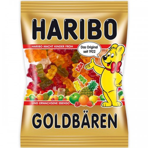 Żelki HARIBO Goldbaren 175 g