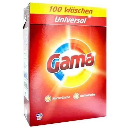 GAMA (Vizir) 100 prań Uniwersalny proszek 6,5 kg