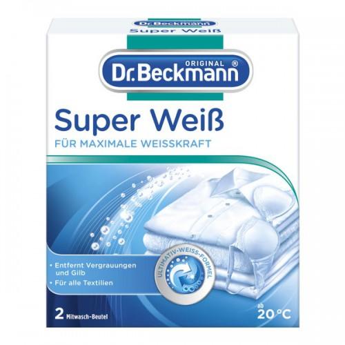 Dr. Beckmann Super Weiss saszetki wybielające 2x40g