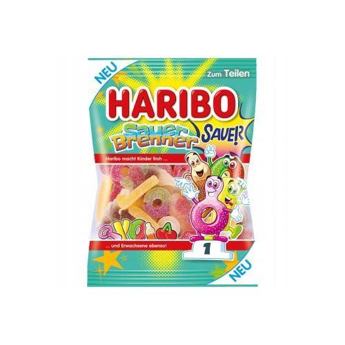 Żelki HARIBO Sauer Brenner 175g kwaśne