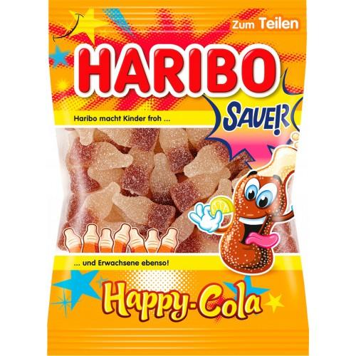 Żelki HARIBO Happy-cola 200g kwaśne