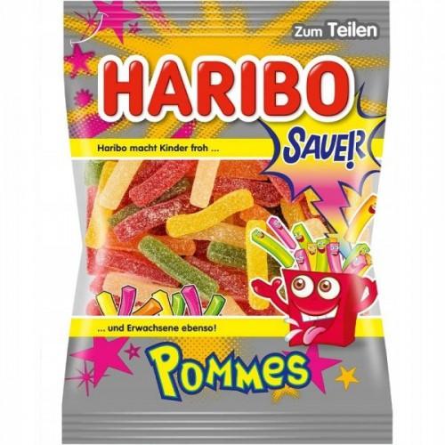 Żelki HARIBO Pommes Sauer 200g kwaśne frytki