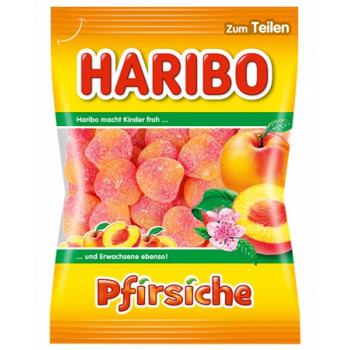 Żelki HARIBO Pfirsiche 200g  brzoskwiniowe