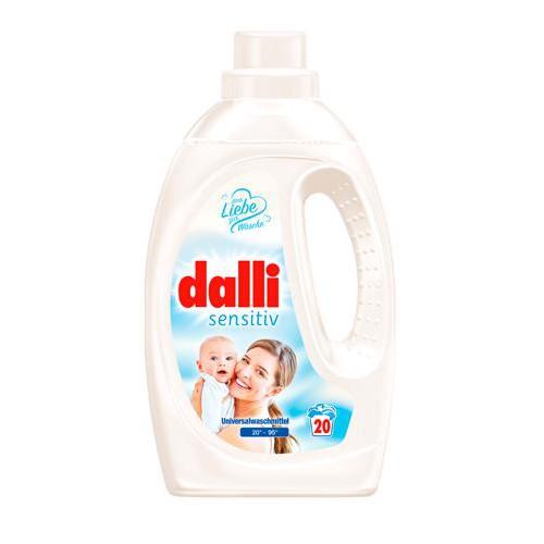 DALLI żel do prania sensitive 1,1L 20 prań