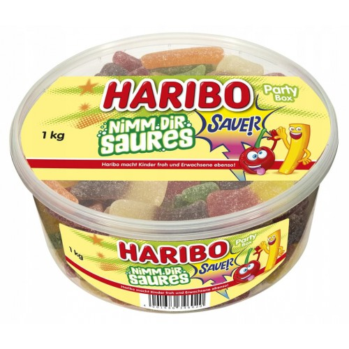 HARIBO Nimm dir saures/kwaśne żelki 1 kg
