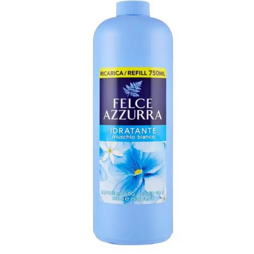 FELCE AZZURA mydło (zapas) białe piżmo 750ml
