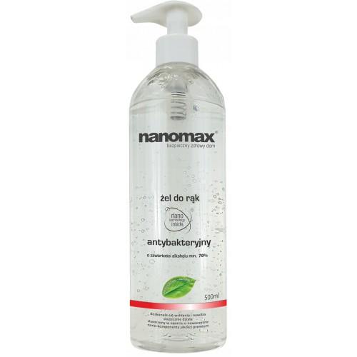 NANOMAX Żel antybakteryjny do rąk 500 ml