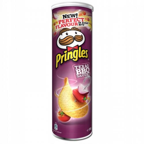 PRINGLES chipsy, smak Texas BBQ Sauce 200g