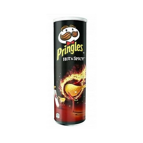 PRINGLES chipsy o smaku HOT & SPICY 200g
